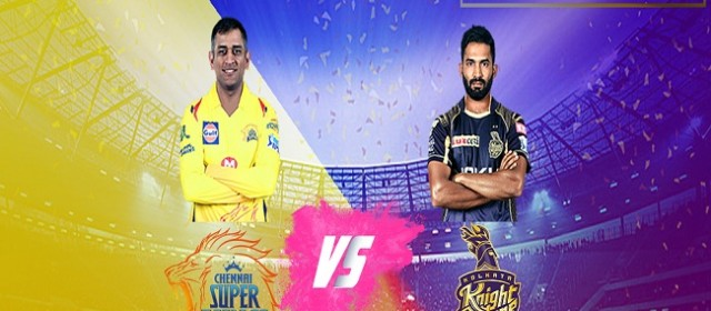 A Statistical Report- CSK vs KKR | Match,Traffic,Bus,Train Timings- IPL 2018