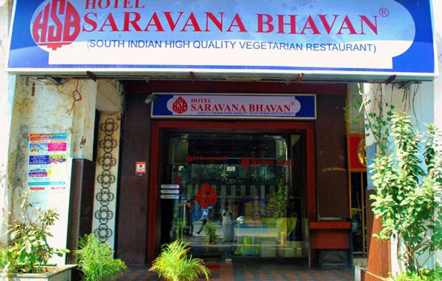 hotel_saravana_bhavan_new_delhi_route