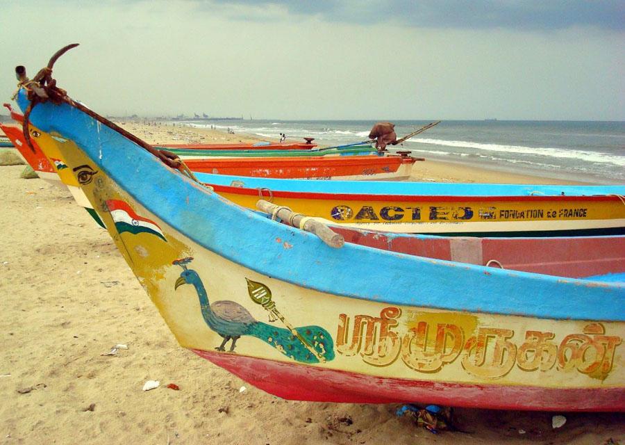 Chennai_India madras-boats