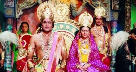 Ramayan &  Mahabharat  retelecast on Doordarshan National (DDNational)